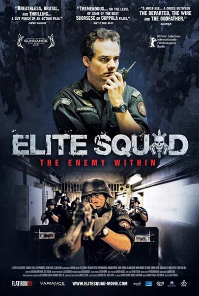 Elite Squad: The Enemy Within (2010) - Movie Poster