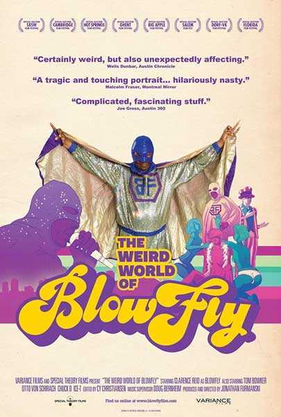 The Weird World of Blowfly (2010) - Movie Poster