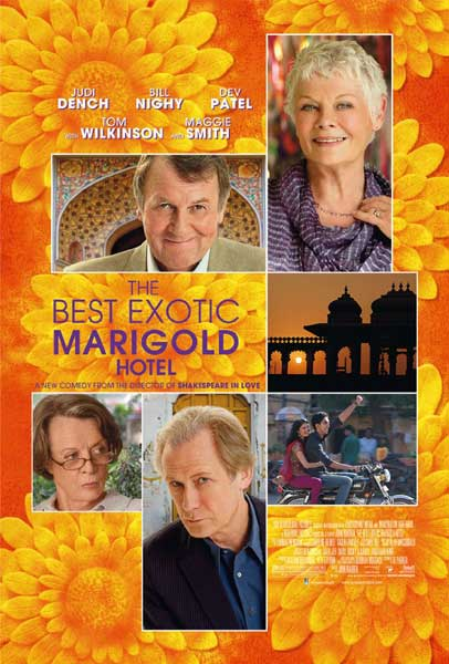 Best Exotic Marigold Hotel (2012) - Movie Poster