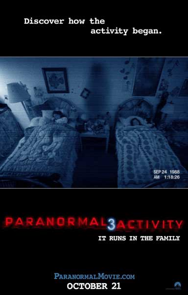 Paranormal Activity 3 (2011) - Movie Poster
