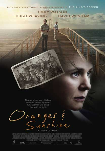 Oranges and Sunshine (2010) - Movie Poster