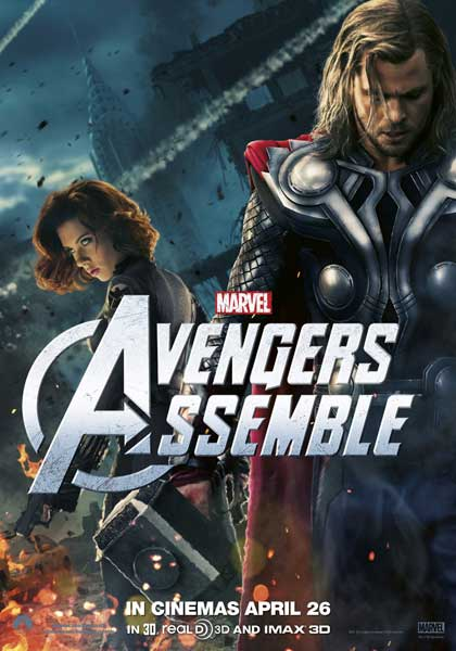 Avengers, The (2012) - Movie Poster