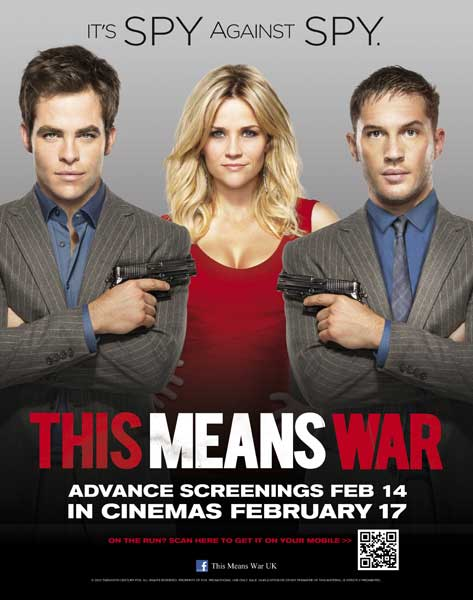 This Means War (2012) - Movie Poster