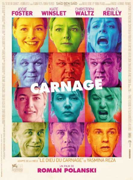 Carnage (2011)  - Movie Poster