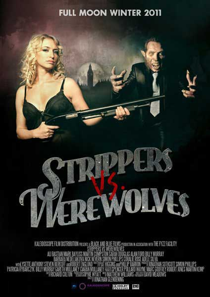 Strippers vs Werewolves (2011) - Movie Poster
