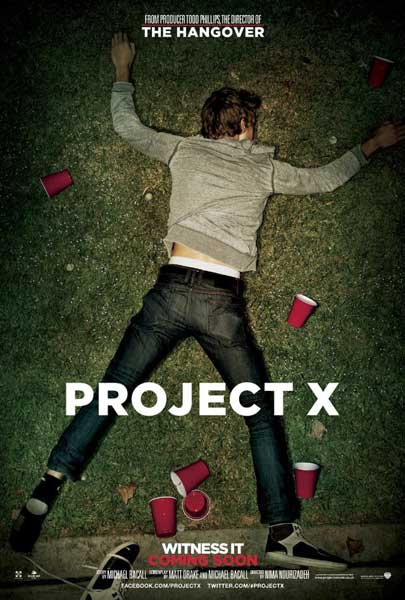 Project X (2012) - Movie Poster