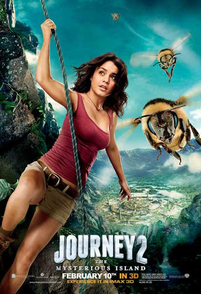 Journey 2: The Mysterious Island (2012) - Movie Poster