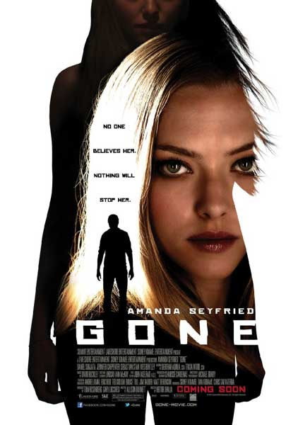 Gone (2012) - Movie Poster