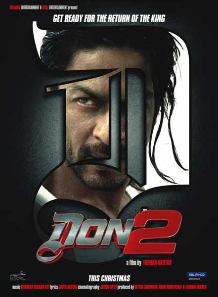 Don 2 (2011) - Movie Poster