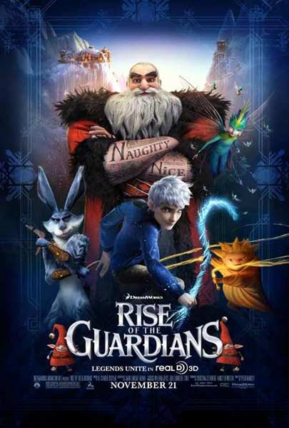 Rise of the Guardians (2012) - Movie Poster
