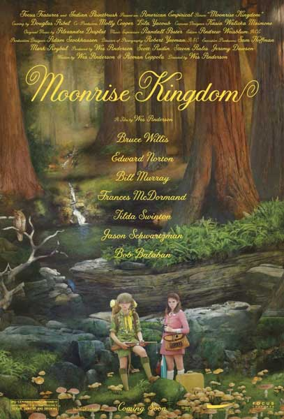 Moonrise Kingdom (2012) - Movie Poster