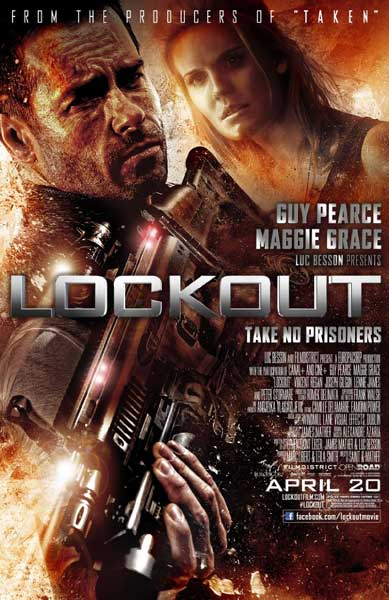 Lockout (2012) - Movie Poster