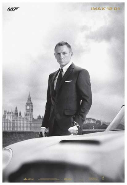 Skyfall (2012) - Movie Poster