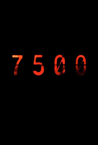 7500 (2012) - Movie Poster