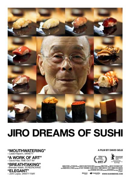 Jiro Dreams of Sushi (2011) - Movie Poster