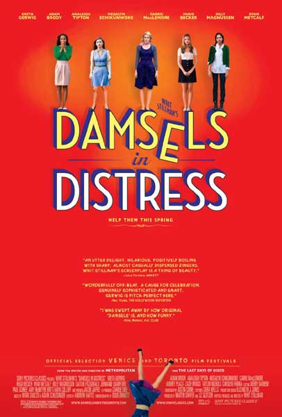 Damsels in Distress (2011) - Movie Poster