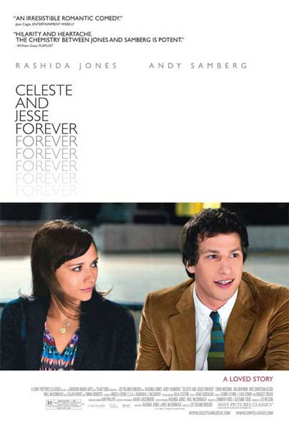 Celeste and Jesse Forever (2012) - Movie Poster