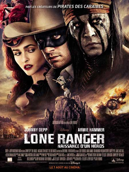 Lone Ranger, The (2013) - Movie Poster