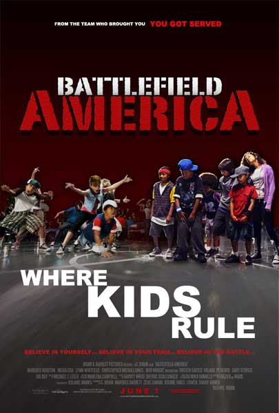 Battlefield America (2012) - Movie Poster