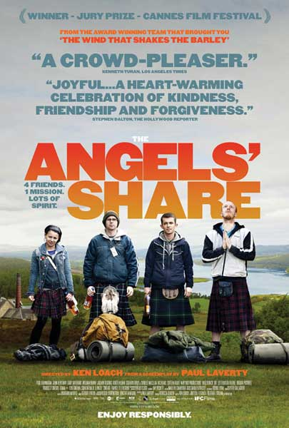 Angels\' Share, The (2012) - Movie Poster