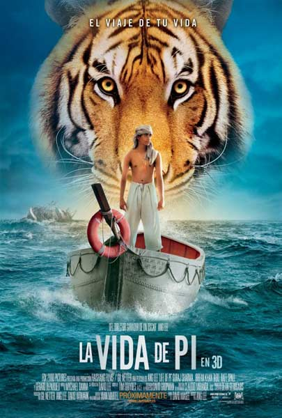 Life of Pi (2012) - Movie Poster