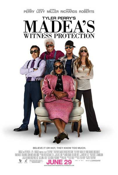 Madea\'s Witness Protection (2012) - Movie Poster