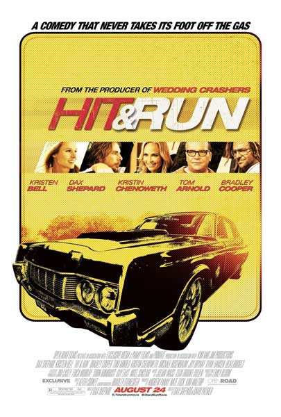 Hit and Run (2012) - Movie Poster
