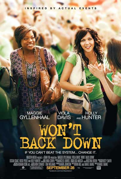 Won\'t Back Down (2012) - Movie Poster