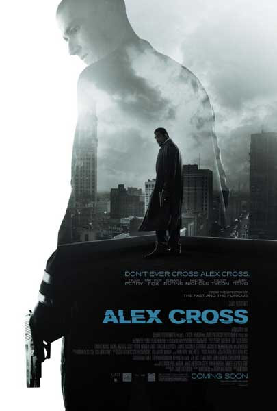 Alex Cross (2012) - Movie Poster