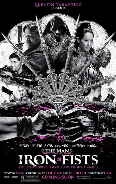 The Man with the Iron Fists (2012) - Movie Poster