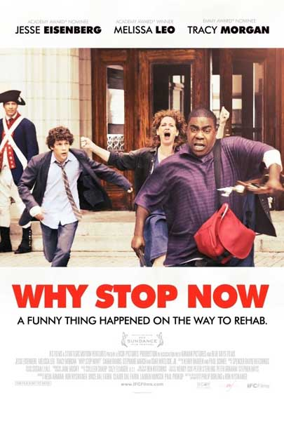 Why Stop Now (2012) - Movie Poster