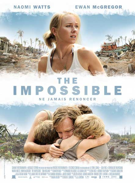 Impossible, The (2012) - Movie Poster