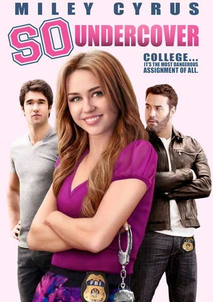 So Undercover (2012) - Movie Poster