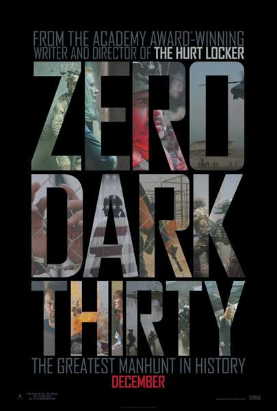 Zero Dark Thirty (2012) - Movie Poster