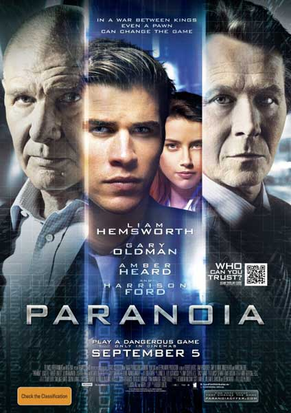 Paranoia (2013) - Movie Poster
