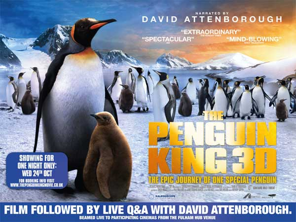 The Penguin King 3D (2012) - Movie Poster