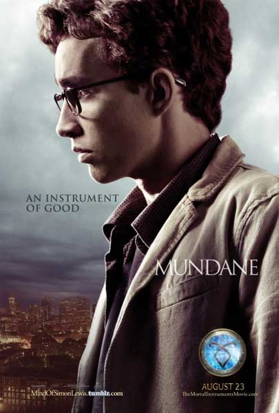 Mortal Instruments: City of Bones, The (2013) - Movie Poster