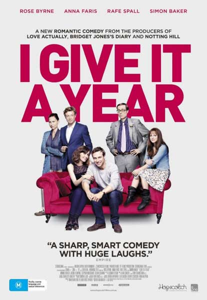 I Give It a Year (2013) - Movie Poster