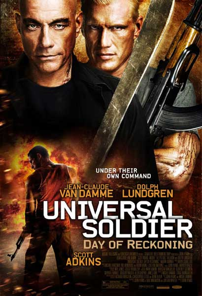 Universal Soldier: Day of Reckoning (2012) - Movie Poster