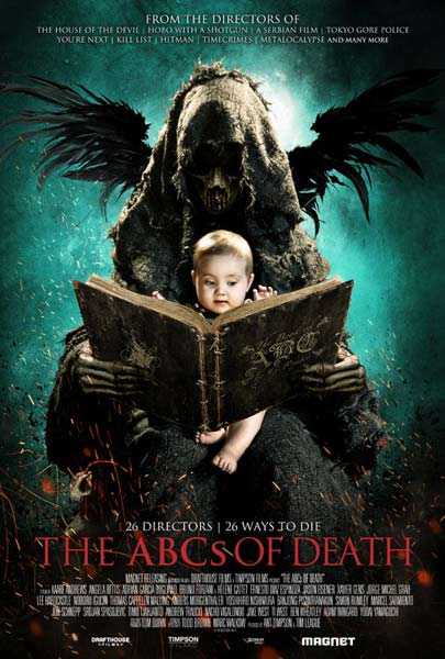 The ABCs of Death (2012) - Movie Poster