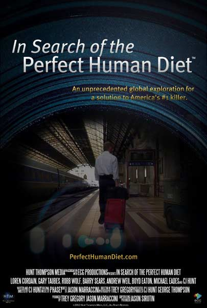 In Search of the Perfect Human Diet (2012) - Movie Poster