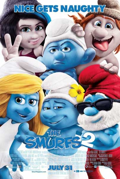 Smurfs 2, The (2013) - Movie Poster