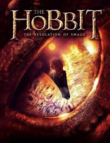 Hobbit: The Desolation of Smaug, The (2013) - Movie Poster