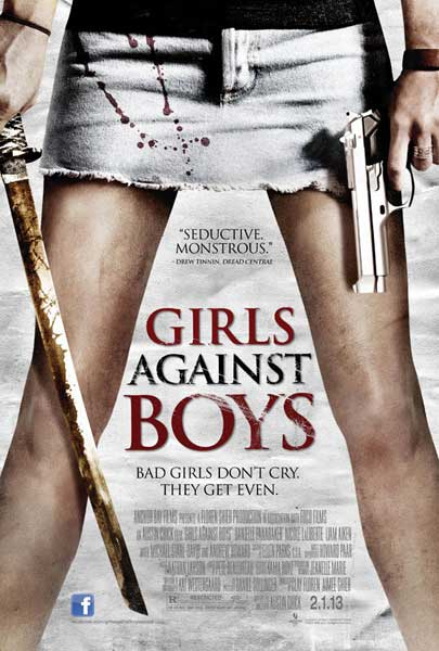 Girls Against Boys (2012) - Movie Poster