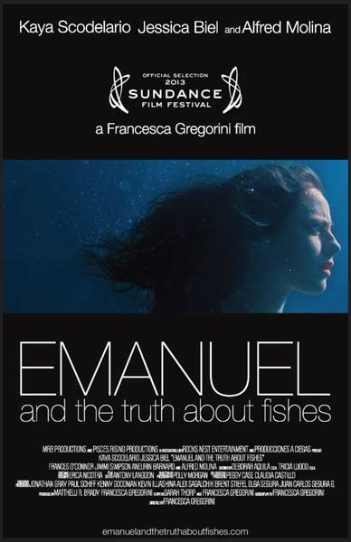 Emanuel and the Truth about Fishes (2013) - Movie Poster