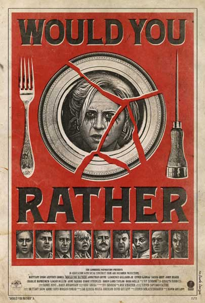Would You Rather (2012) - Movie Poster