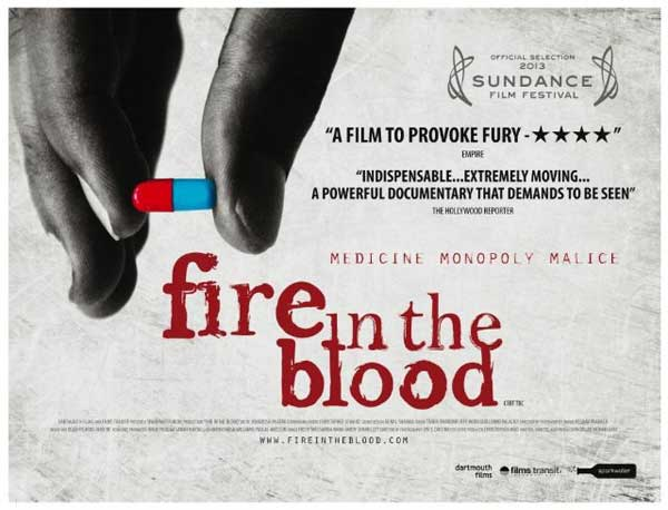 Fire in the Blood (2012) - Movie Poster