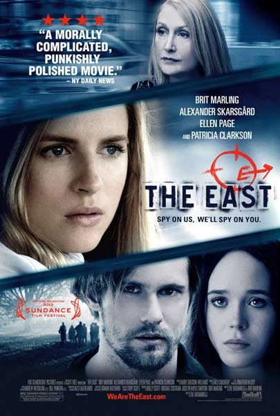 East, The (2013) - Movie Poster