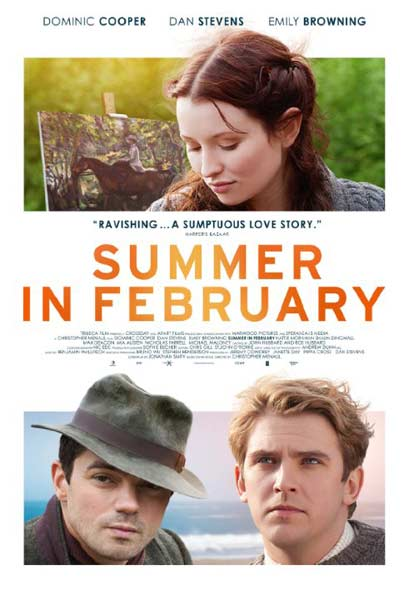 Summer in February (2013)  - Movie Poster