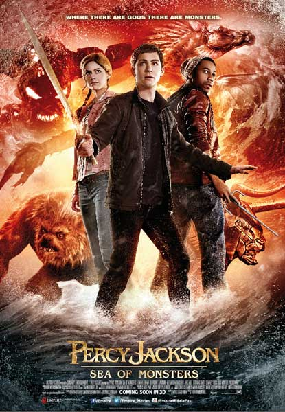 Percy Jackson: Sea of Monsters (2013) - Movie Poster